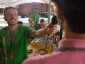 """Riccione (RN), missione di evangelizzazione """"chi ha sete venga a me"""". 2015-08-21 © Carlos Folgoso / Massimo Sestini"""